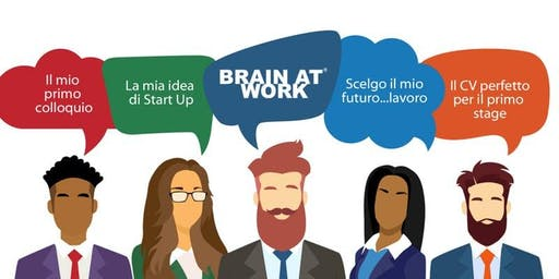Career Day - Coffee Job Brain at Work Napoli Edition - 21 febbraio 2019 None