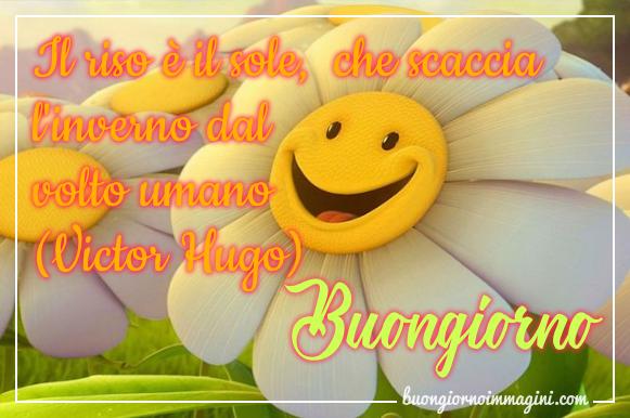 Il Riso E Il Sole Che Scaccia L Inverno Dal Volto Umano Victor Hugo